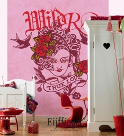 Eijffinger Wallpower Wanted Wild Rose 301608