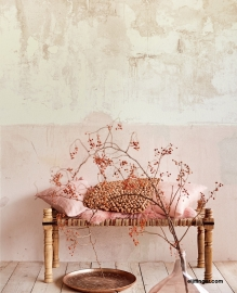 Eijffinger Resource Wallpower 369152 Pale Pink Weathered Wall