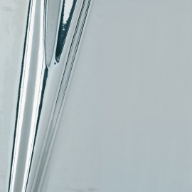 Plakfolie Zilver glans 45CM breed