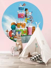 KEK Amsterdam Kids behangcirkel Cake CK-037