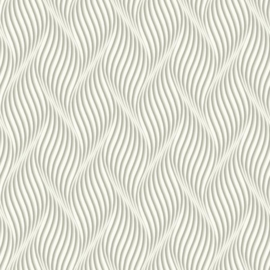 York Wallcoverings Ashford Whites behang SW7443 Groovy