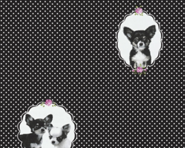 AS Creation Little Stars Hondjes behang 35851-2