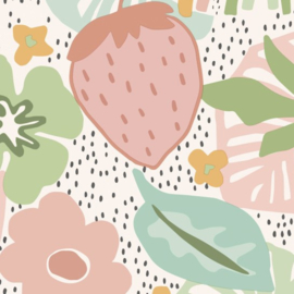 BN Doodleedo behang Strawberry Fields 220772