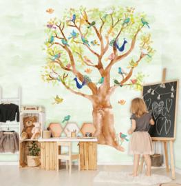 Behangexpresse Kate & Andy Wallprint Birds in Trees INK7427
