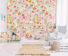 Behangexpresse Kay & Liv Wallprint Flower Field INK 7013
