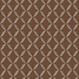 Dutch Fabric Touch behang Circle Geometric FT221226
