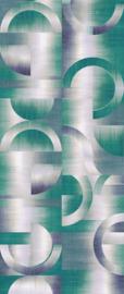 Khrôma Prisma behangpaneel Leonardo Teal DGPRI1013
