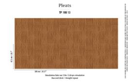 Élitis Pleats behang Arts & Craft TP 18013