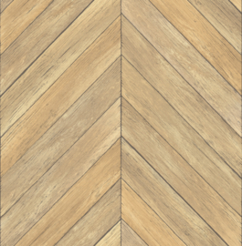 Dutch Restored Parisian Parquet behang 24004