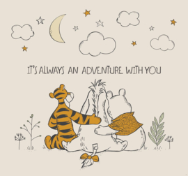 Noordwand Kids@Home Inidvidual Wall Mural Winnie the Pooh Friends Forever Wall Mural 111390
