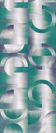 Khrôma Prisma behangpaneel Leonardo Teal DGPRI1012
