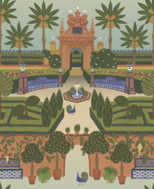 Cole & Son Seville behang Alcazar Gardens 117/7020