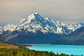 Papermoon Fotobehang Vlies Mount Cook en Pukaki Lake 18319