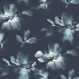 York Wallcoverings Candice Olson Tranquil behang Midnight Blooms SO2470
