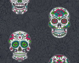 AS Creation Boys and Girls 6 behang Skulls 35817-3