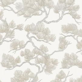 Dutch Wall Fabric behang Pine Tree WF121011