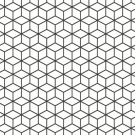 Noordwand Zero behang Cube 9719