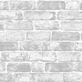 Noordwand Kids@Home Inidvidual behang White Brick Wall 102835