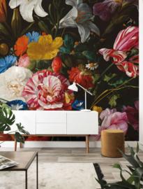 KEK Amsterdam Flora & Fauna behang Golden Age Flowers WP-234
