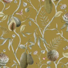 Khrôma Cabinet of Curiosities behang Papaya Jungle CAB603