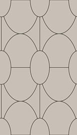 Cole & Son Geometric II behang Riviera 105/6028