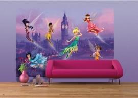 AG Design Fotobehang Disney Fairies in London FTDS1925