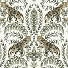 York Wallcoverings Ronald Redding 24 Karat behang Jungle Leopard KT 2202