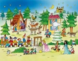 XXL Wallpaper Fairy Tale 0350-7