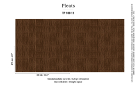 Élitis Pleats behang Arts & Craft TP 18011