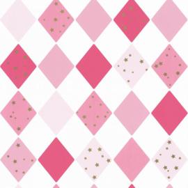 Caselio Girl Power behang Shine Bright Like A Diamond GPR 100814109