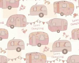 AS Creation Boys and Girls 6 behang Caravan 34345-1