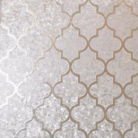 Arthouse Velvet Trellis Rose Gold Foil 294604