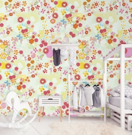 Behangexpresse Kay & Liv Wallprint Flower Field INK 7014