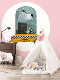KEK Amsterdam Kids behangcirkel Bear Cab CK-038