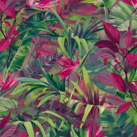 Dutch Wallcoverings Jungle Fever behang Paradise Flower JF2303