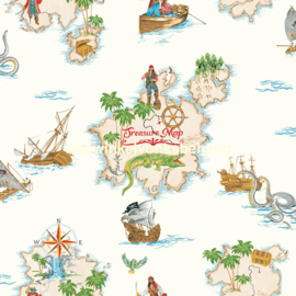 Arthouse Imagine Fun 2 Pirates Ahoy behang 696107