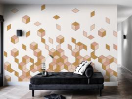 BN Cubiq Mural Faling Cube 200450
