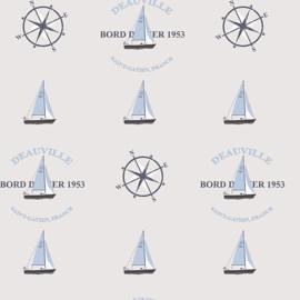 Noordwand Deauville 2 Kompas behang G23031