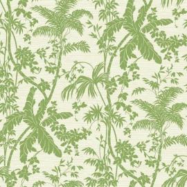 York Wallcoverings Ashford Tropics behang AT7107 Palm Shadow