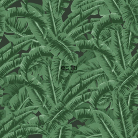 Esta Home Jungle Fever behang Bananenbladeren 138985