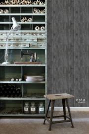 Esta Home Greenhouse Sloophout planken behang 128841