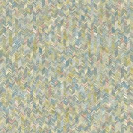 Dutch First Class Amazonia behang Saram Texture Coral Blue 91292