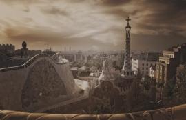 Dutch DigiWalls City Love Fotobehang Barcelona CL07C