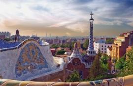 Dutch DigiWalls City Love Fotobehang Barcelona CL07A