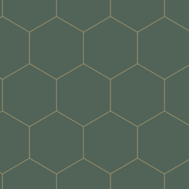 Esta Home Art Deco behang  Hexagon 139228