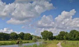 Noordwand Holland Fotobehang Kromme Rijn II 3205