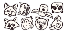 Eijffinger Wallpower Junior Stickers 864002 Animaux