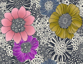 Hookedonwalls Missoni Home Anemones behang 10001