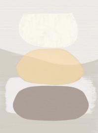 Eijffinger Bold Wallpower 395891 Balancing Rocks Sand
