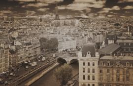 Dutch DigiWalls City Love Fotobehang Paris CL09C